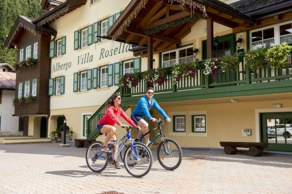 Bike Hotel Offer in Canazei - Hotel Villa Rosella in Val di Fassa