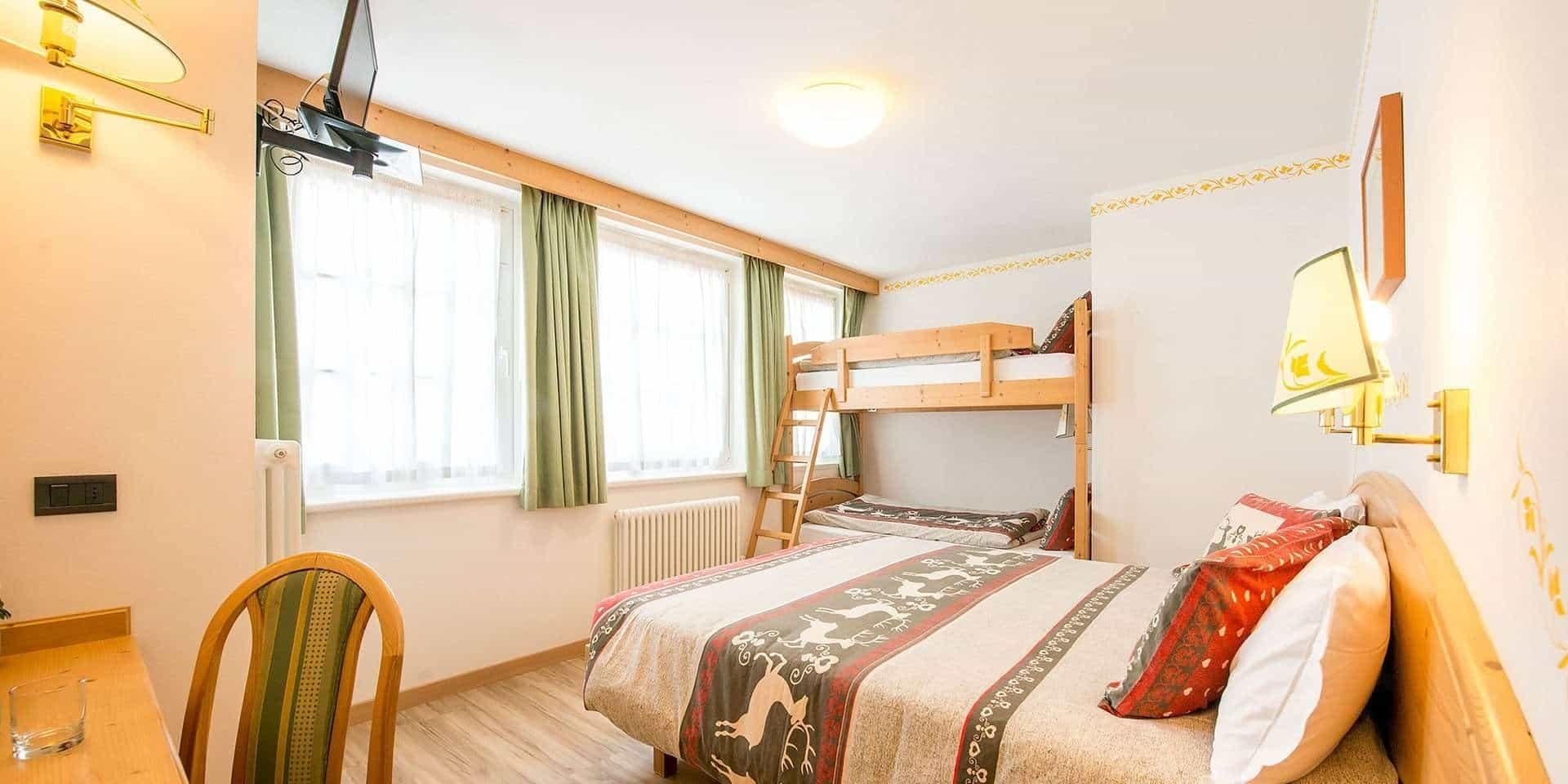 Hotel Villa Rosella***-Trentino-Camera Quadrupla